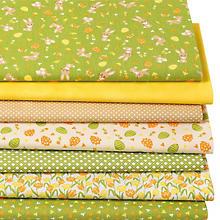 Patchwork- und Quiltpaket 'Osterhasen', grün-color