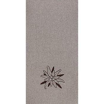 Kissen-Coupon 'Edelweiss', grau