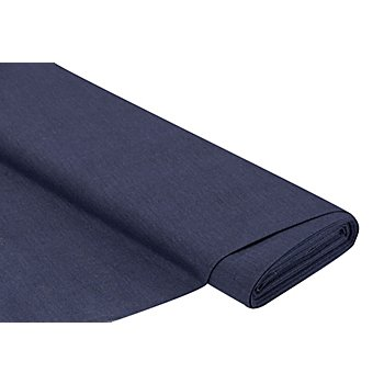 Dekostoff Uni 'Lorena', blau-meliert