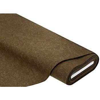 Feutrine, épaisseur : 4 mm, marron chiné