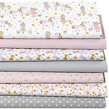 Patchwork- und Quiltpaket 'Prinzessin & Pferd', rosa-color