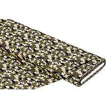 Baumwollstoff 'Camouflage & Dinos', grün-color