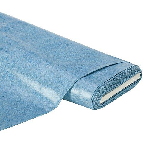 Image of Abwaschbare Tischwäsche - Wachstuch Melange, blau