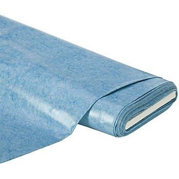 Abwaschbare Tischwäsche - Wachstuch Melange, blau