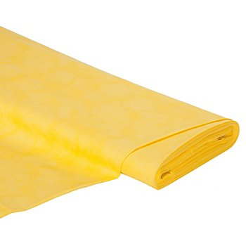 Tissu coton 'moiré', jaune