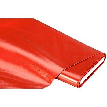 Linge de table épongeable - toile cirée 'uni', rouge