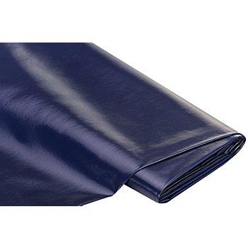 Linge de table épongeable - toile cirée 'uni', bleu marine