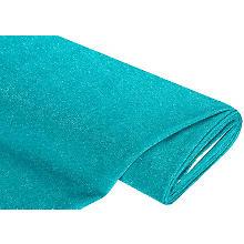 Tissu jersey lurex, turquoise