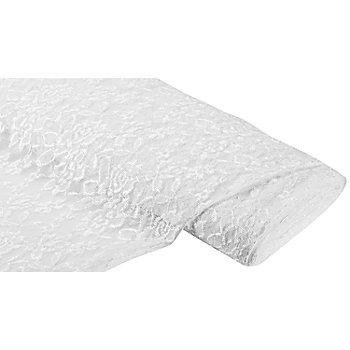 Tissu dentelle 'Marie', blanc