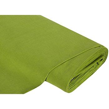 Tissu velours milleraies, vert kiwi