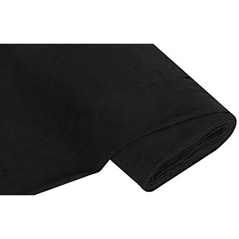 Tissu velours milleraies, noir