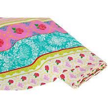 Tissu coton 'Eileen', multicolore
