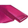 "Paillettenstoff ""Gloss"", pink, 6 mm Ø, 135 cm breit"