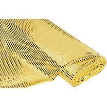 Paillettenstoff 'Gloss', gold, 6 mm Ø, 150 cm breit