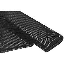 Paillettenstoff 'Gloss', schwarz, 6 mm Ø, 150 cm breit