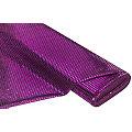 Tissu à paillettes scintillantes, violet/noir, 6 mm Ø, 135 cm de large