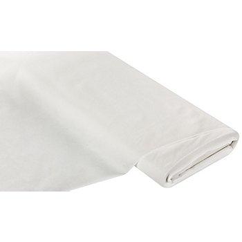Aufbügel-Vlies Fadenverstärkt, weiß, 50 g/m²