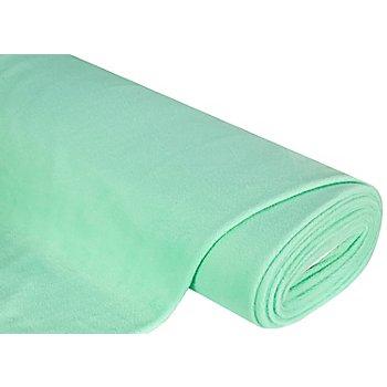 Tissu polaire, vert menthe