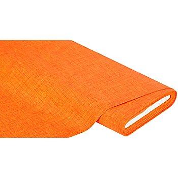 Beschichtetes Baumwollmischgewebe 'Meran' Uni, orange