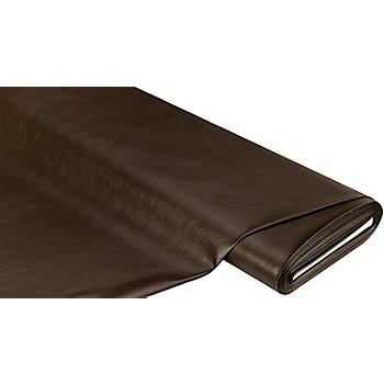 Tissu similicuir 'Tom', chocolat