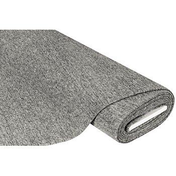 Tissu pour manteaux 'Lana', gris chiné