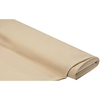Tissu polyester uni, beige