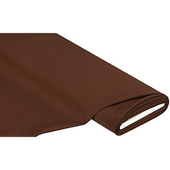 Tissu polyester uni, praliné