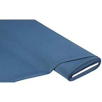 Tissu polyester uni, bleu jeans