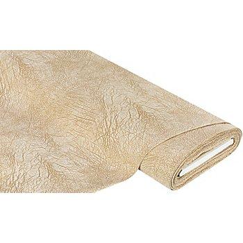 Tissu velours d'ameublement 'antique', écru