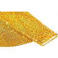 "Paillettenstoff ""Paillettenregen"", Hologramm, gold"