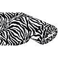 """Wellness-Fleece """"Zebra"""", schwarz/weiß"""