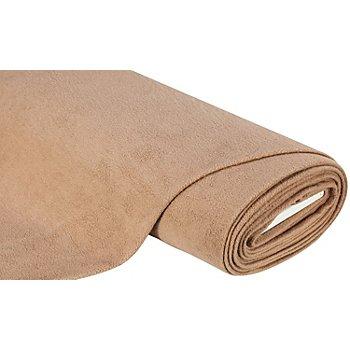 Baumwoll-Fleece, hellbraun