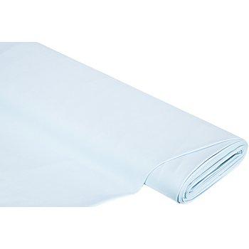 Tissu jersey en coton 'uni', bleu clair