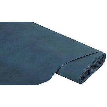 Tissu imitation cuir, bleu jeans