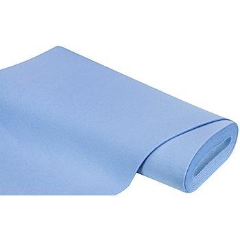 Textilfilz, Stärke 4 mm, hellblau