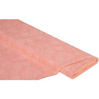 Tissu coton 'moiré', saumon