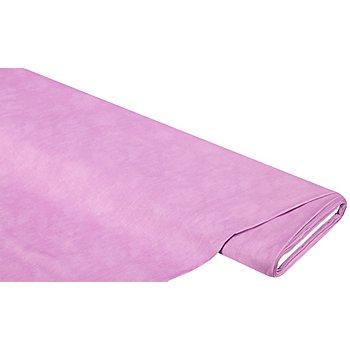 Tissu coton 'moiré', lavande