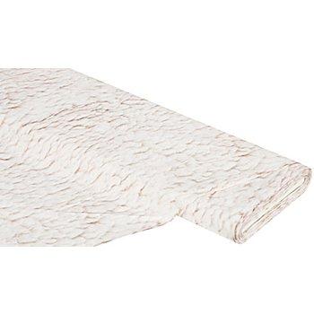 Baumwollstoff - Digitaldruck Lammfelloptik