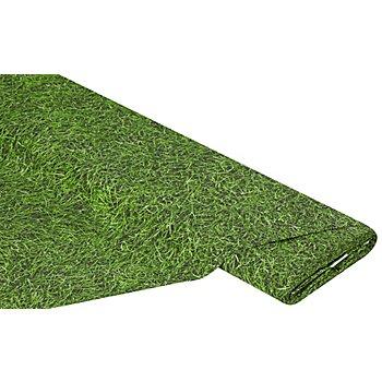 Baumwollstoff - Digitaldruck Gras