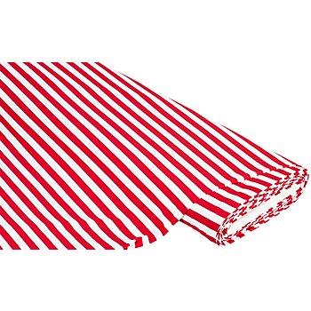 Streifen-Jersey, rot/weiss