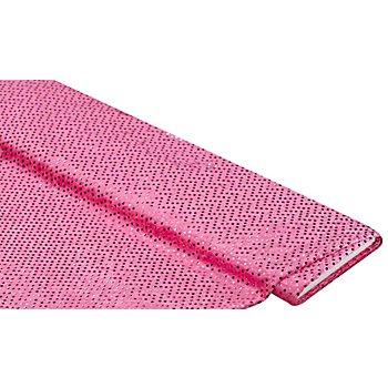 Pannesamt mit Pailletten, pink