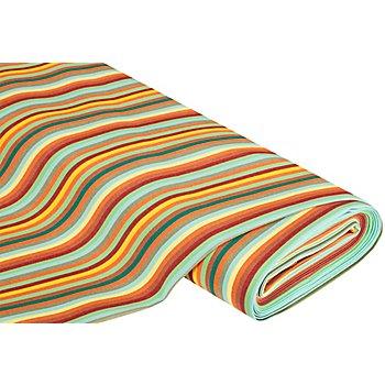 Tissu d'extérieur à rayures 'Madrid', multicolore