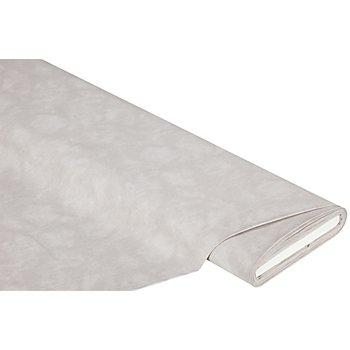 Tissu coton 'moiré', pierre
