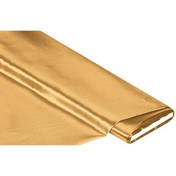 Schwer entflammbarer Satin, gold