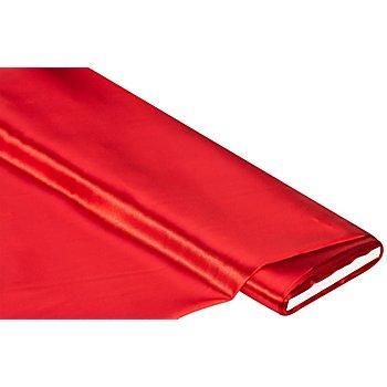 Schwer entflammbarer Satin, rot