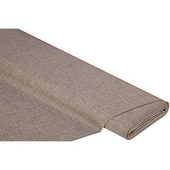 Beschichtetes Baumwollmischgewebe 'Meran' Uni, toffee