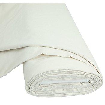 Tissu molleton en coton 'Nora', écru