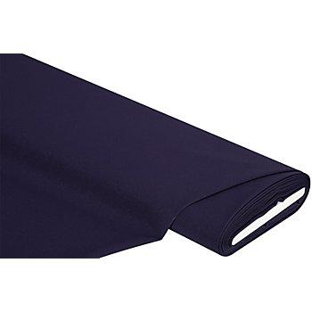 Tissu polyester uni, bleu marine
