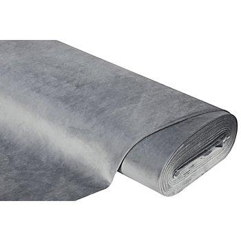 Möbel-Samt 'Brillant', grau, flammhemmend
