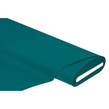 Tissu polyester uni, pétrole